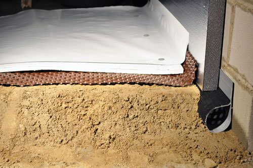 Crawl Space Products In Greater Fayetteville Ar Drainage