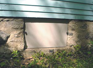 Crawl Space Vent Cover Installation in Mountain Home